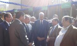 محافظ الاسكندرية يفتتح عددا من المعارض بالملتقى البيئي الثامن للجامعة